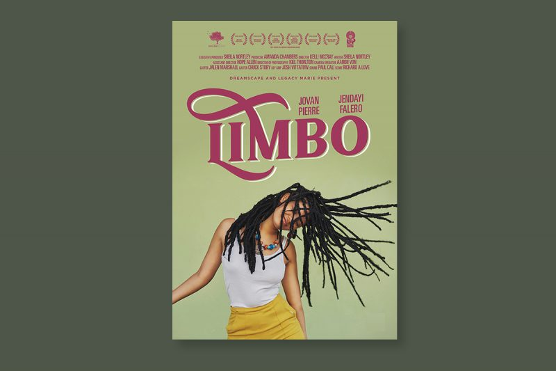Poster design for Limbo, a short film produced in the USA.