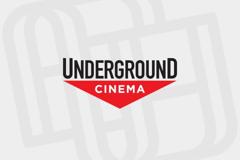 Logo design for London's Underground Cinema.