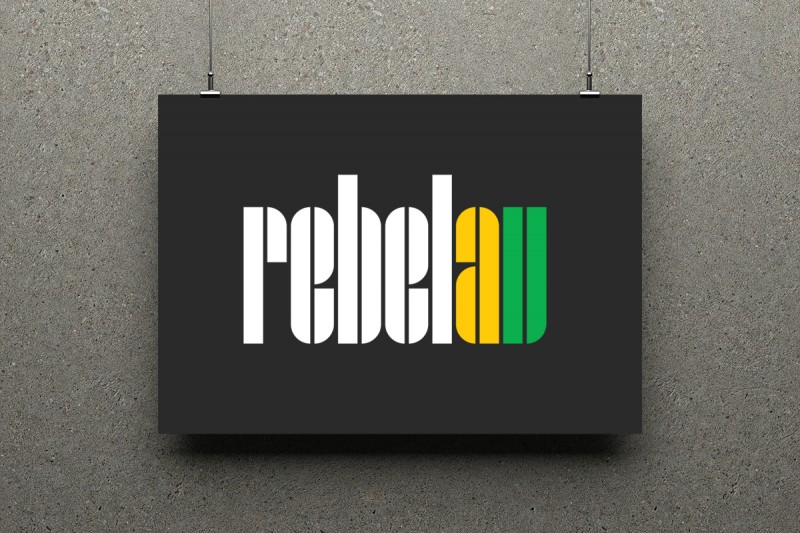 Identity design for RebelAV.
