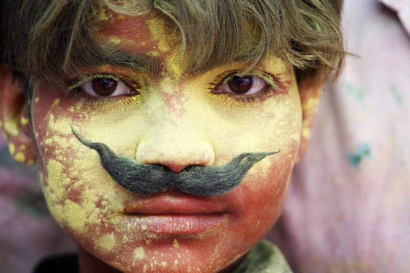 Photography from Holi Festival in India.