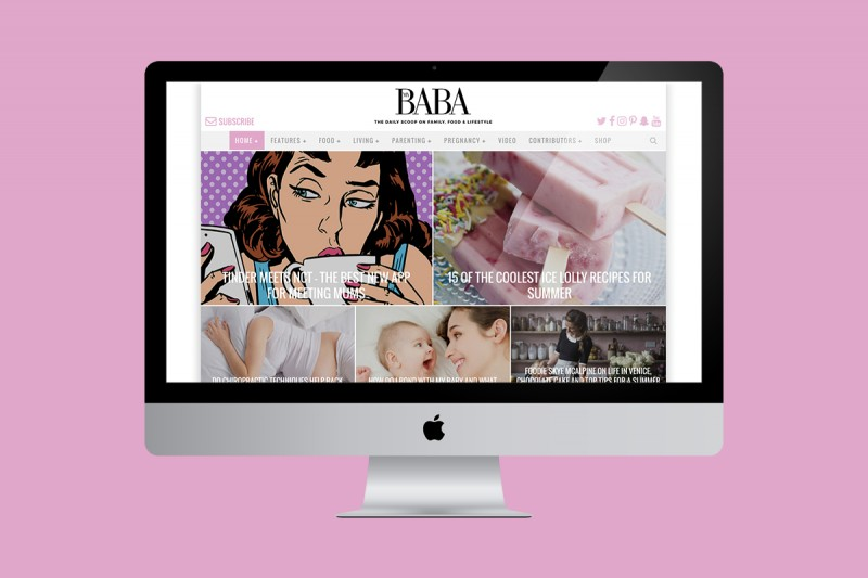 Website update for My Baba (based on their existing off-the-shelf WordPress theme).
